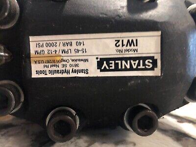 Stanley Iw12 34 Hydraulic Impact