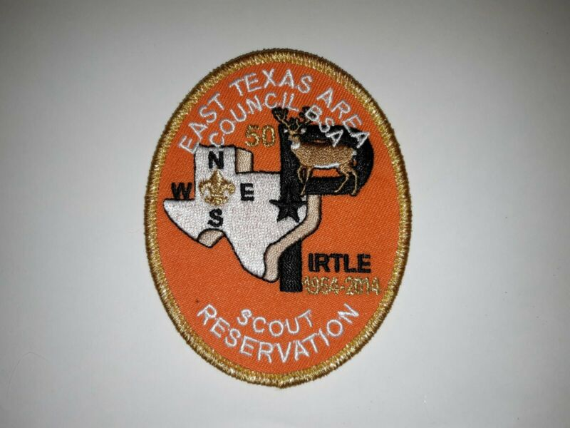 East Texas Area Council 2014 George W Pirtle Scout Reservation Camp Patch
