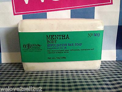 Bath & Body Works CO Bigelow Mentha Exfoliating Peppermint Oil Bar Soap No. (Mentha Body Exfoliating Soap)