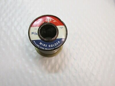 Willard Solder 5050 10.8 Oz Spool See All Pictures Fast Tracked Shipping