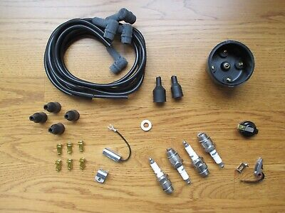 Complete Ignition Tune Up Kit Set For Ih Farmall Cub Cub Loboy 154 184 185