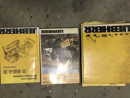 Liebherr R994B manuals and tune up procedure