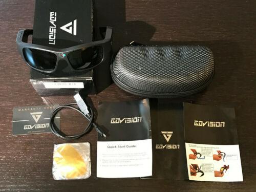 GoVision Pro-1 1080P Video Recording Sunglasses W/Case