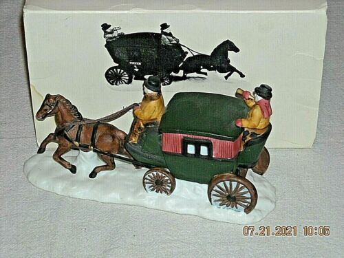 DEPARTMENT 56 Dover Coach Heritage Village Collection #6590-0 With Box