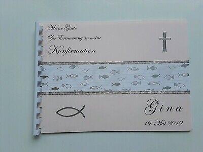 , Spiralbindung, Konfirmation, Kommunion, Taufe, Geschenk, A5 (Kommunion Buch)