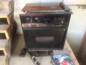 Cook top and oven