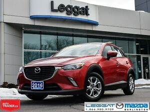 2016 Mazda CX-3 GS- BLUETOOTH, REAR CAMERA, ALLOY WHEELS