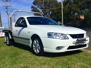 2007 Ford Falcon BF Mk2 Ute 4.0 LPG Auto Table Top warranty Leumeah Campbelltown Area Preview