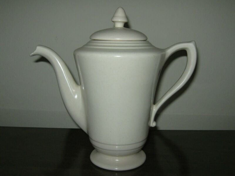 FRANCISCAN POTTERY MONTECITO WARE AFTER DINNER COFFEE TEA POT BEAUTIFUL ELEGANT