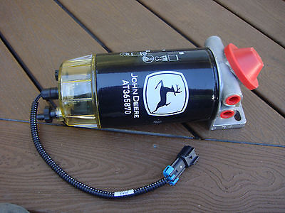 John Deere Loader Grader Dozer Skidder Fuel Filterwater Separator Heater Assy