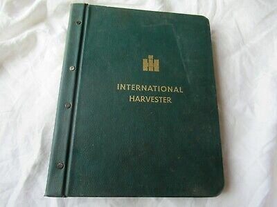 International Harvester 454 464 574 674 Tractor Service Manual Hard Cover Binder