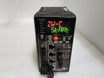 OMRON ZW-CE10T Displacement Sensor Controller 24VDC