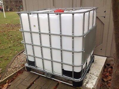 275 Gallon Ibc Tank  Tote Bin   Water Tank  You Pick Up Tote No Shipping