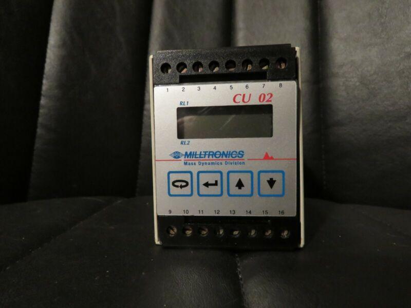 Milltronics Senaco CU-02 Control Unit    2 SPDT Relays   100/115/200/230 VAC