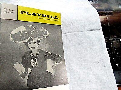 1966 Playbill HELLO DOLLY Eve Arden Shubert Theater Chicago