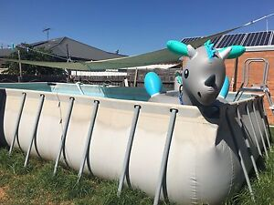 ABOVE GROUD SWIMMING POOL WITH PUMP St Albans Brimbank Area Preview
