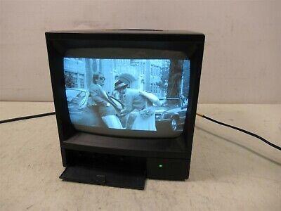 Speco Technologies Vm901b Video Monitor Monochrome Cctv Crt 9