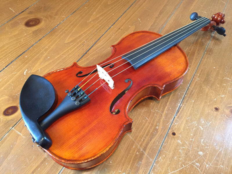 "Quality Hand Made 14"" Viola, Used and Professionally Refurbished, 2180"