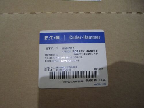 NEW EATON HM4R12 ROTARY HANDLE MECHANISM