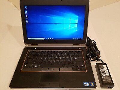"""Dell Latitude E6420 14.1"""" Laptop Intel Core i5-2540 4GB 128GB SSD Win-10 DVD BT"""