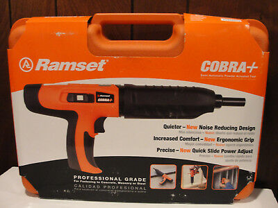 Ramset Cobra Plus .27 Semi-automatic Powder Actuated Tool New