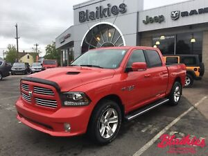 2017 Ram 1500 Sport | RAM BOX | HEATED/VENTED LEATHER SEATS |