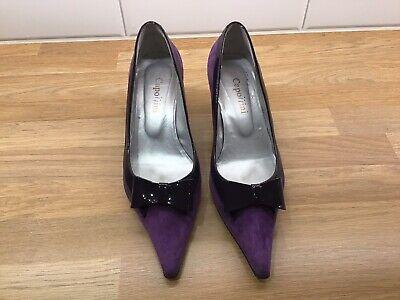 Capollini Ladies Shoes Purple Size 5