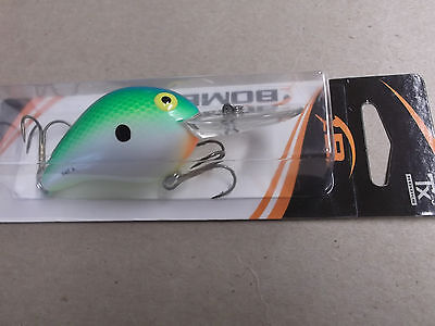 Hard to Find Older Bomber Fat A,4F Model,#TS,Tennessee Shad,Orange Bomber Card