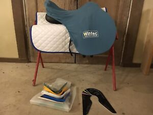 "18"" Wintec synthetic saddle"