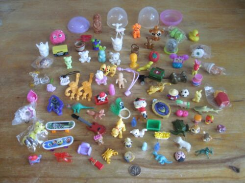 Miniatures & Tiny Figures, Toys, Animals, Doll House Items, Bubbles 89 Pc Lot
