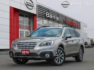 2016 Subaru Outback 3.6R Limited Package TOP LEVEL FEATURES W...