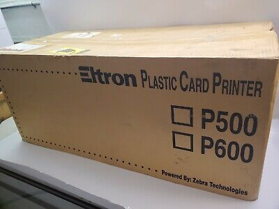 Eltron P500c 120385-011 Thermal Card Printer With Lamination