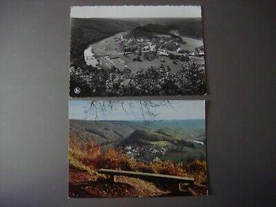 Lot de 2 cartes de FRAHAN SUR SEMOIS ( Bouillon )