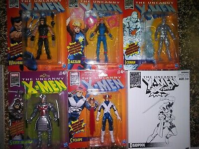 Marvel Legends - 80 Years Collection - The Uncanny X-Men - Lot Of 6