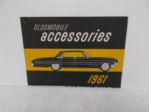 1961 OLDSMOBILE ACCESSORIES BROCHURE