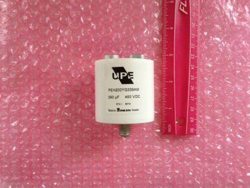 UPE EVOX RIFA PEH200YG339AM Aluminum Electrolytic Capacitor 450V 390uF New