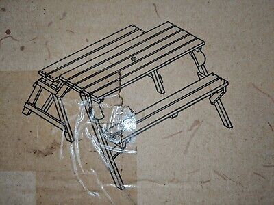 Merry Products MPG-ACT04S Small Picnic Table / Garden Bench NIB for sale  Staten Island