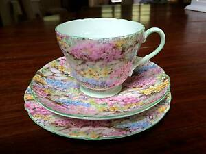 8 Piece Collection of Shelley & Royal Winton Tea Sets Kilaben Bay Lake Macquarie Area Preview