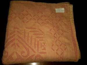 Shabby chic handmade Indian quilt double bed Hilton Fremantle Area Preview