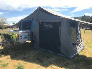 2015 Australian made off-road Altitude Camper Trailer. Immac Condition