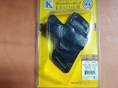 TRIPLE K BELT SLIDE HOLSTER #420-FITS SCCY CPX-1 NEW IN PACKAGE