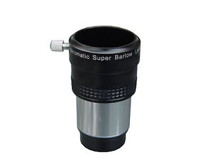 31-7mm-1-25-Achromatic-Super-Barlow-Lens-Eyepiece-2x