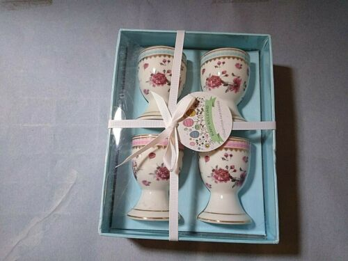 Bunny Boulevard Spring Floral pattern Egg Cups set of 4