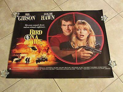 Bird On A Wire movie poster - Mel Gibson, Goldie Hawn