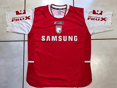 Rare Vintage LOTTO Independiente Santa Fe 2005 Home Soccer Jersey Men's Large image