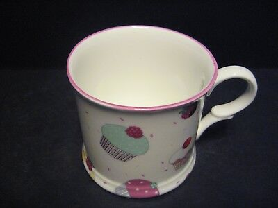 1 Cup Cake Small English Fine Bone China Mug Cup By Milton China (p) Small Bone China