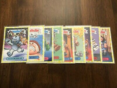 Garbage Pail kids Oh the Horrible Yellow You Pick One