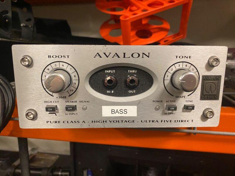 Avalon U5 Class A Preamp