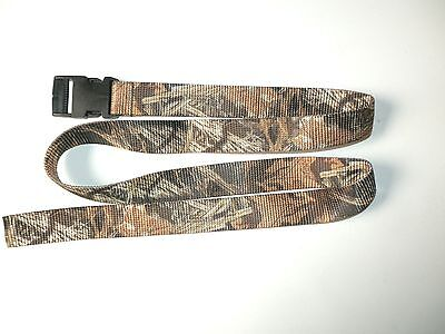 Advantage 'MAX 4' Camouflage Wader Belt with Plastic Buckle (See -