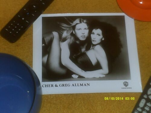 CHER and GREGG ALLMAN Promo Photo Warner Bros.